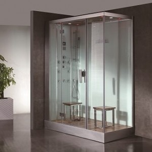 DZ961F8-W Steam Shower 59.1″x35.4″x89″