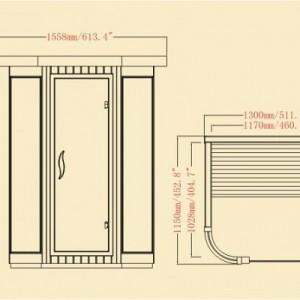 Far Infrared Sauna ELITE SERIES – BS-9252