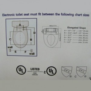 Bidet Seat/ Washlet Intelliseat