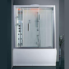 Steam Shower/ Whirlpool Bathtub DA328F3-1 59.1″x32″x87″