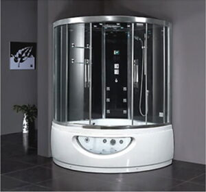 all in one steam shower
