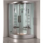 DZ962F8-W Steam Shower 47.25″x47.25″x89″