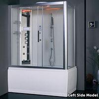Steam Shower/ Whirlpool Bathtub DA328F3-1 59.1″x32″x87″