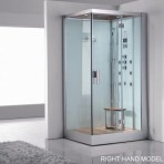 DZ959F8-W Steam Shower 47.25″x35.4″x89″