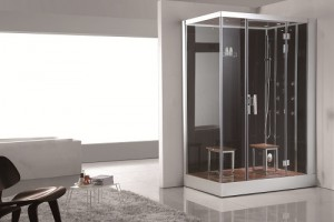 freestanding steam shower
