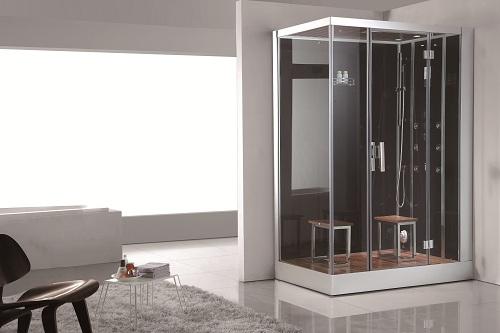 freestanding steam shower
