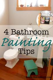 bathroom painting tips