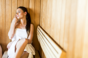 sauna use for relaxation